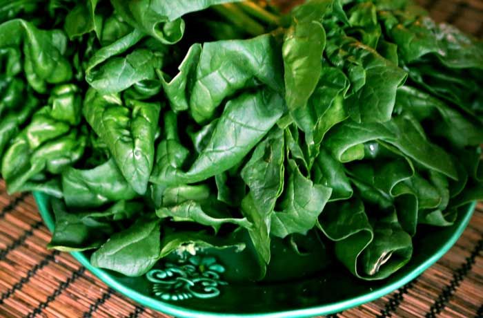 spinach for smoothie