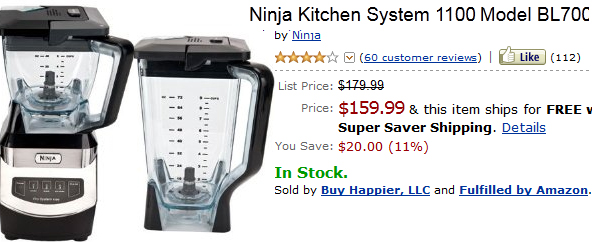 Ninja1100 Kitchen System