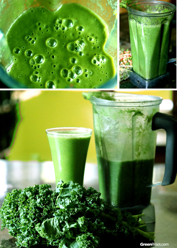 Green smoothie recipes with Kale