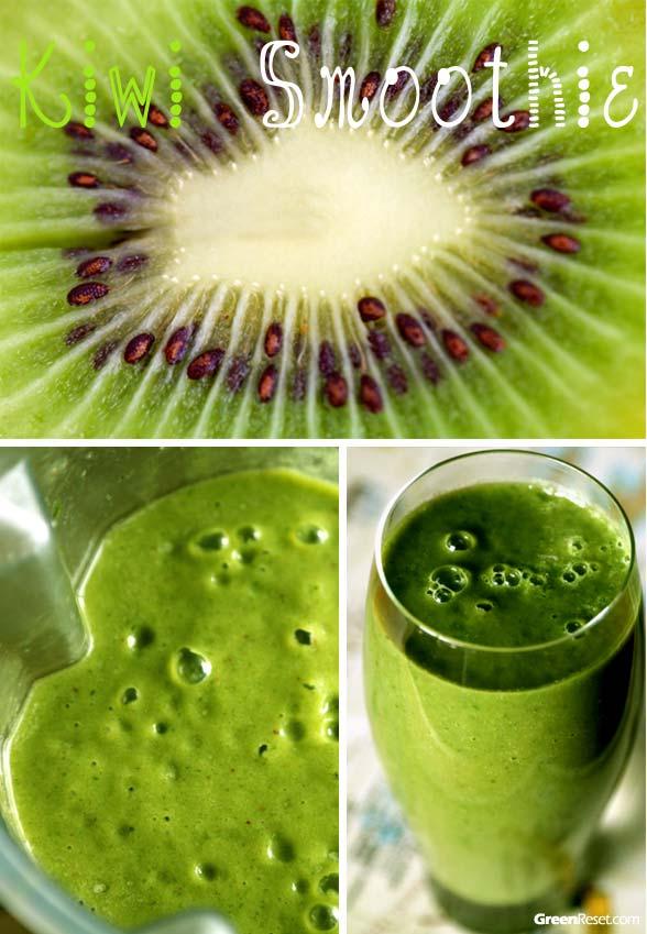Strawberry Kiwi Smoothie Recipe   Green Smoothie Recipes That Rock!