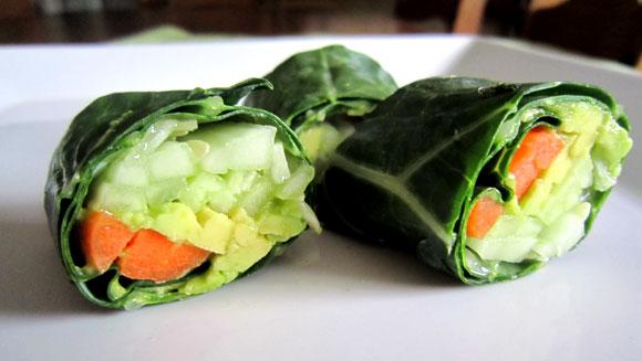 Veggie Sushi Wraps