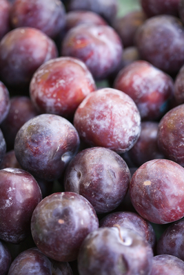 Prunes (dried plums) work well for constipation relief
