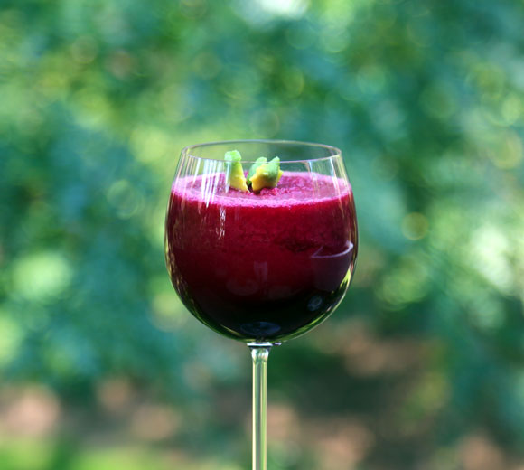 Beautifully Red Beet Smoothie