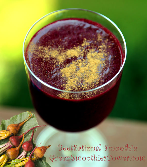 Beet-Sational Smoothie Recipe