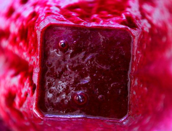 Beet Smoothie in Vitamix