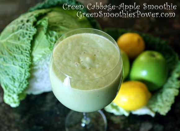 Green Cabbage Smoothie