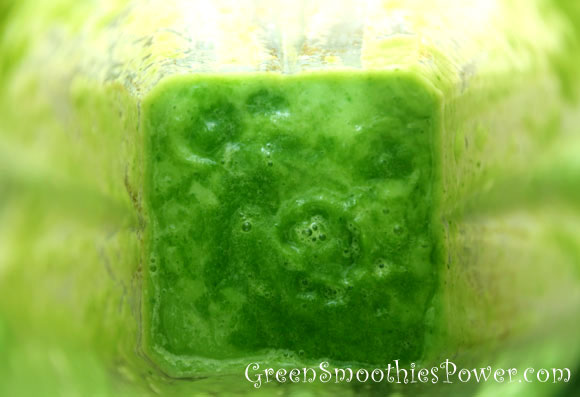 Spinach Smoothie in Vitamix