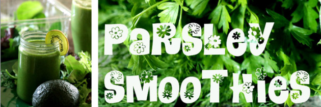 The Amazing Parsley: Health Benefits and 3 Green Smoothie Recipes with Parsley