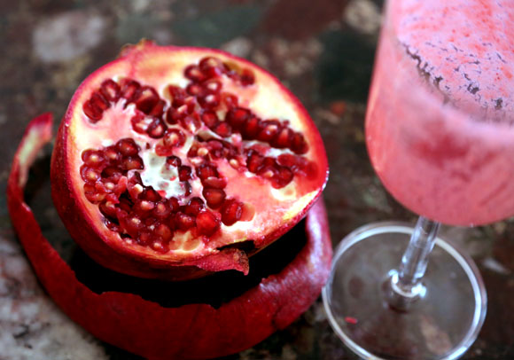 Cherry Pomegranate Smoothie
