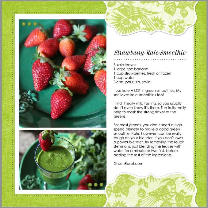 Strawberry Smoothie Recipe