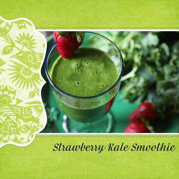 Strawberry Kale Smoothie Recipe