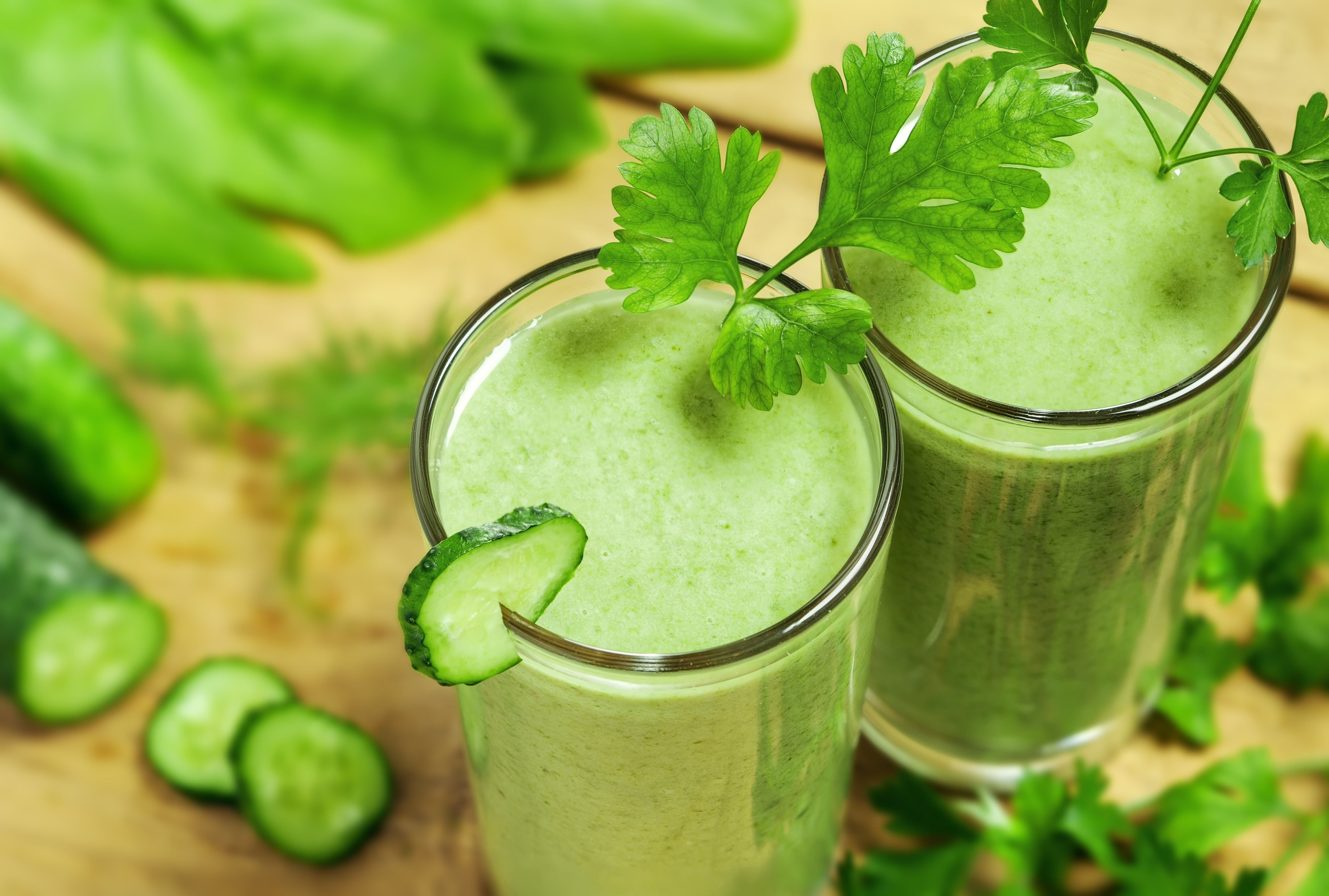Adjusting green smoothie proportions is easy