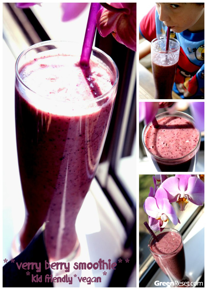 Verry Berry Blaster Smoothie