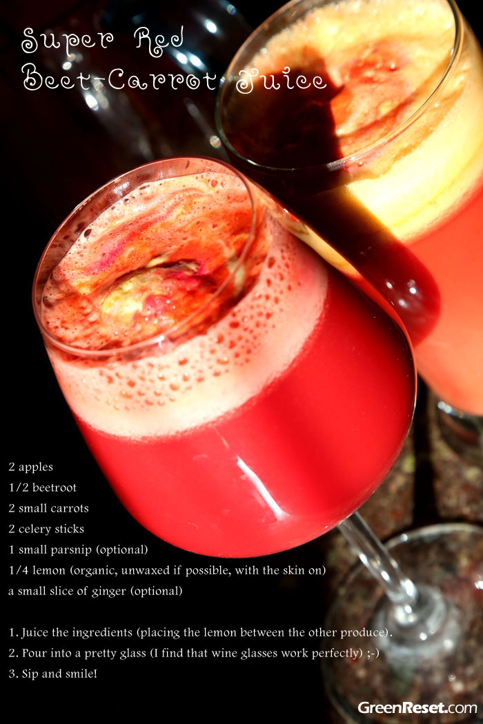 carrot-beet juice