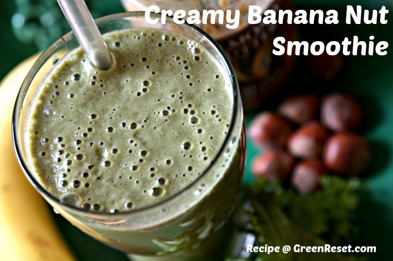 banana nut butter smoothie recipe